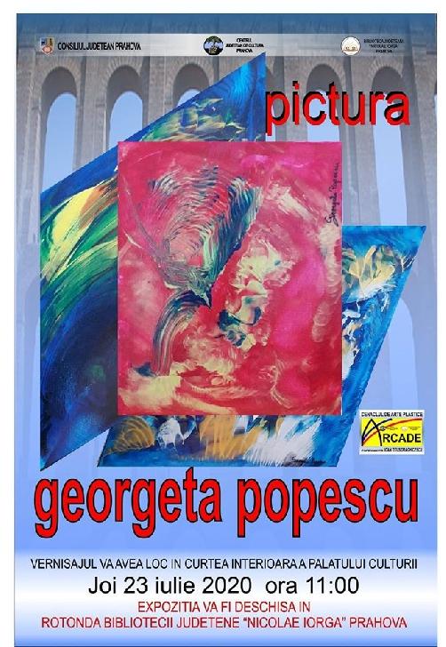 """Biblioteca Judeţeană ,,Nicolae Iorga"""" Ploieşti va găzdui în Rotonda Bibliotecii,  o expoziţie de pictură"""