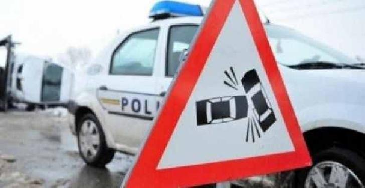 Accident rutier pe Şoseaua Vestului din Ploieşti, între un autoturism şi o motocicletă