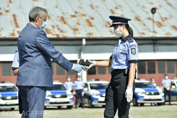 Poliţia Romană a primit dotări noi