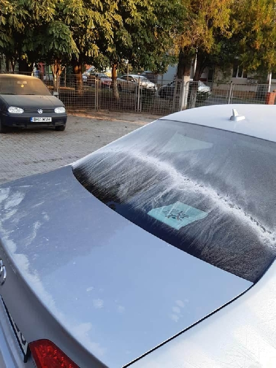 Poluare în comuna Brazi. O substanţă albă a fost eliberată în atmosferă