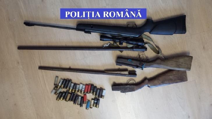 Acţiuni pe linia legalităţii deţinerii, portului şi folosirii armelor şi muniţiilor în judeţul Prahova