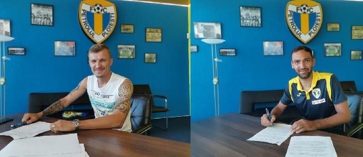 Armando Vajushi şi Cezar Lungu si-au prelungit contractul cu FC Petrolul Ploiesti