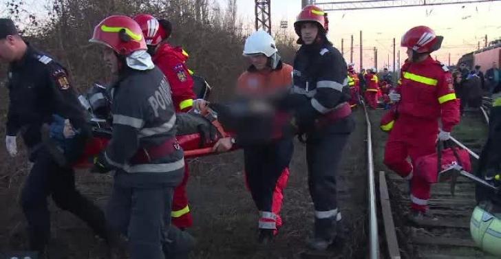 Accident feroviar aproape de Gara de Vest