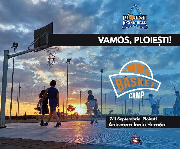 iSports Ploieşti şi Ploieşti Basketball organizează un camp de baschet susţinut de Inaki Hernan