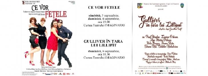 """Teatrul """"Toma Caragiu """" Ploiesti . Programul spectacolelor  in perioada 31 august – 6 septembrie"""