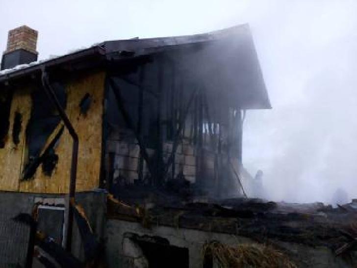 Incendiu la o casă particulară din comuna Apostolache