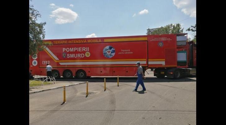 A fost reparata Unitatea mobilă de la Spitalul Judeţean de Urgenţă Ploieşti