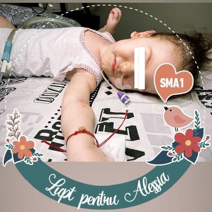 Targ caritabil la Ploiesti, pentru o fetita de 1 an si 4 luni diagnosticata cu amiotrofie spinală musculară tip