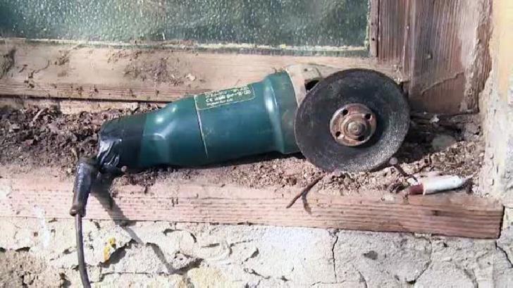 Accident neobişnuit în comuna Râfov. Un bărbat şi-a prins mâna într-un polizor