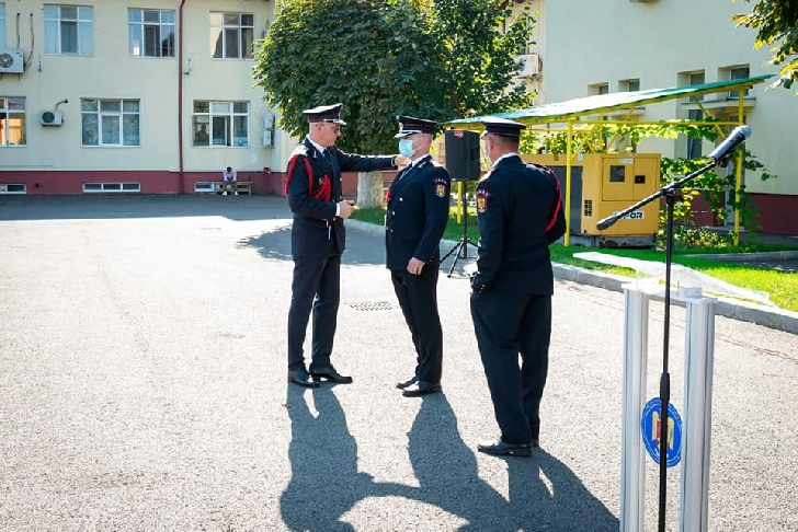 Ceremonie festivă la sediul ISU Prahova