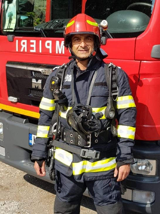 Pompierul de Onoare al anului 2020 este de la ISU Prahova