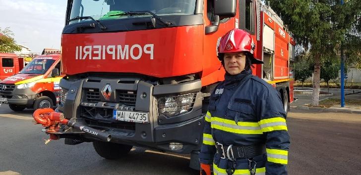 Un pompier prahovean a fost salvator,fara cuvinte