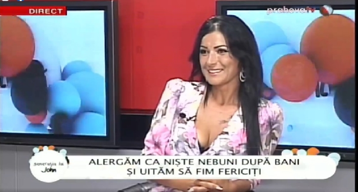 """Alina Cornea (colaborator Info Ploieşti City) a fost invitata in"""" Generaţia lui John"""""""