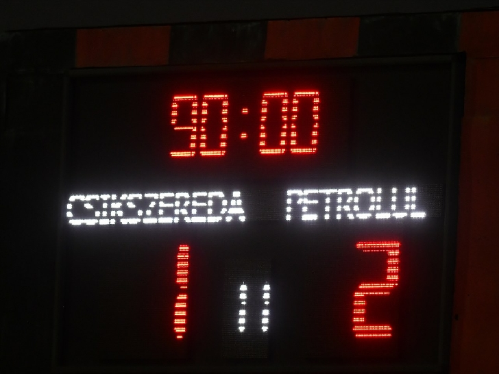 A 3 a victorie consecutiva .  Csikszereda – FC Petrolul Ploieşti 1-2 (rezumat video )