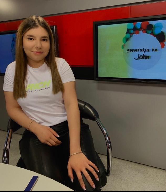 """Maria Petre a fost la"""" Generaţia lui John"""" (video)"""