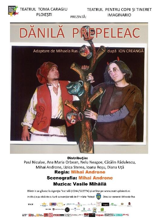 """Teatrul """"Toma Caragiu """" Ploiesti . Programul spectacolelor in perioada 28 septembrie- 4 octombrie 2020"""