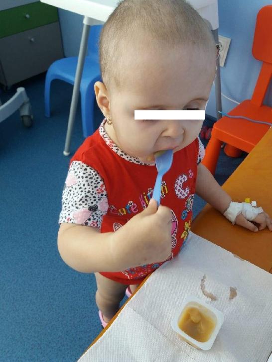 Sofia Maria, la doar 2 ani este diagnosticată cu leucemie acută limfoblastica de tip B. Hai să o ajutăm!