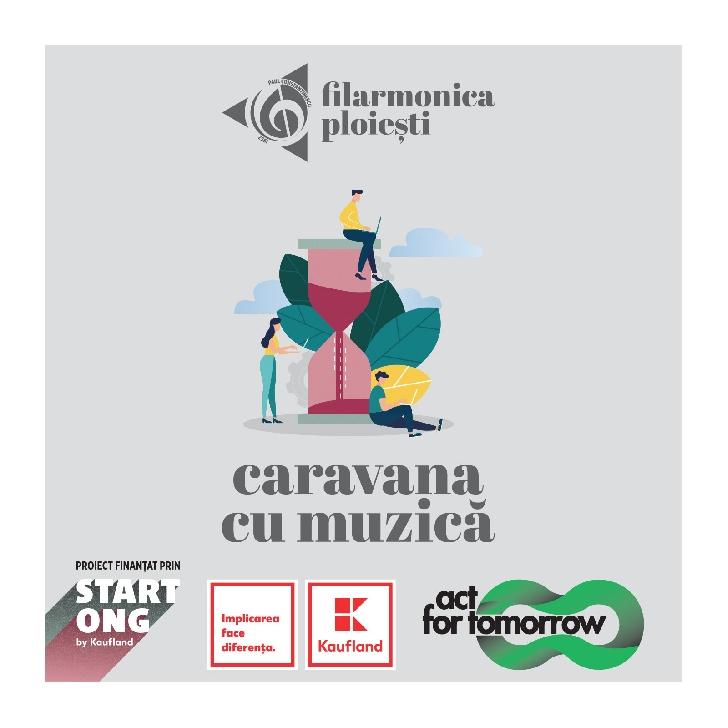 """Filarmonica """"Paul Constantinescu """" Ploiesti . """"Caravana cu muzică"""" va ajunge la Sangeru si Izvoarele"""