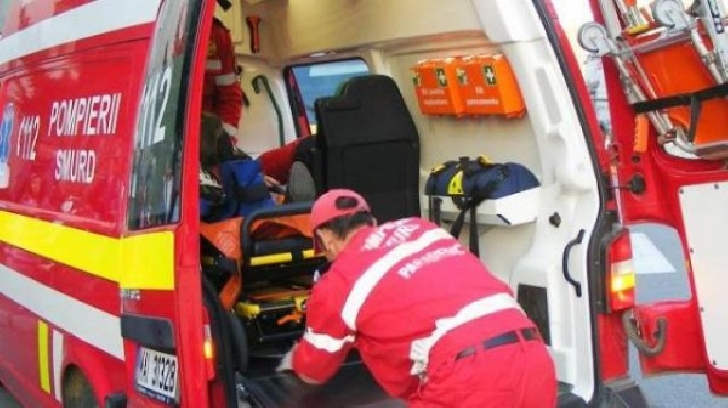 Accident rutier la Comarnic. 2 persoane au ajuns la spital