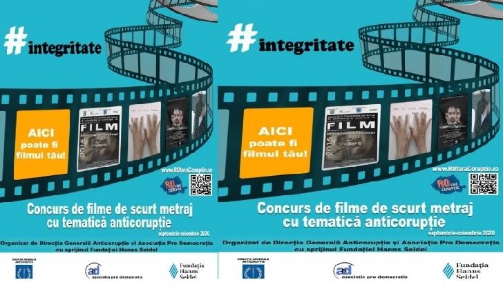 Proiectul - Integritate 2020/Concurs de filme de scurt metraj cu tematică anticorupţie