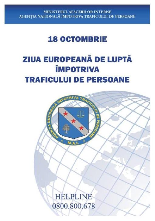 Săptămâna prevenirii traficului de persoane  2020