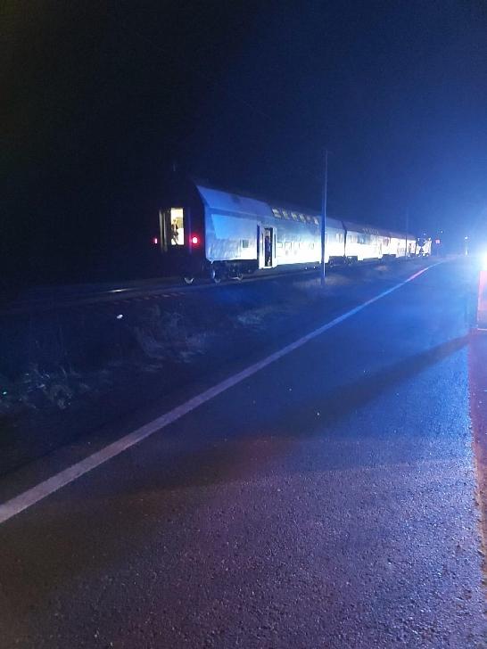 Accident rutier la Breaza. Un camion a fost lovit de tren