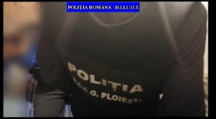 Perchezitii in judetul Giurgiu,intr-un dosar penal de fraude informatice (video)