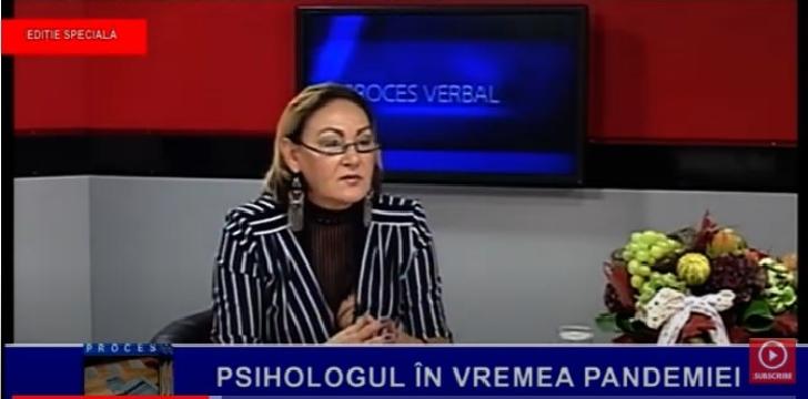 """Psiholog Cătălina Dan a fost invitată în emisiunea"""" Proces Verbal"""" -Prahova TV (video)"""