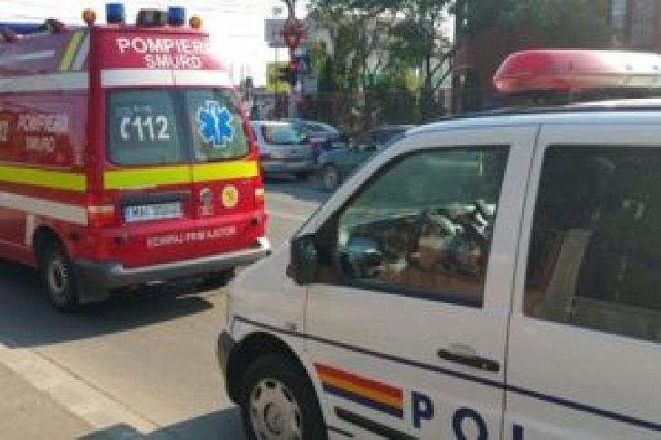 Accident rutier la Stoeneşti. Un tânăr a ajuns la spital