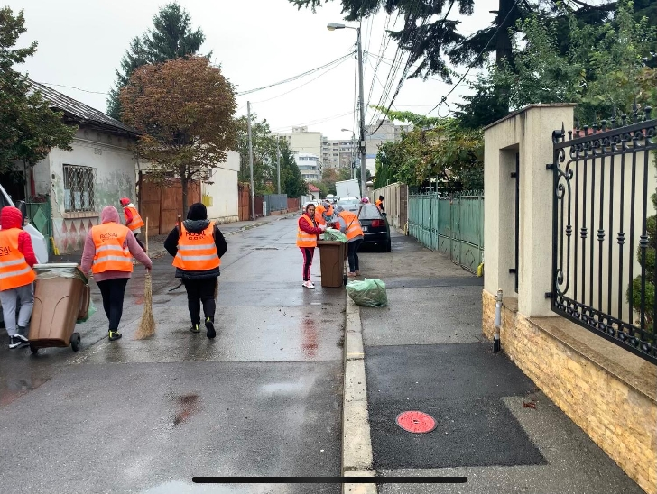 Primaria Ploiesti continua programul Curatenie Generala .Activitatile din data de  3 noiembrie 2020