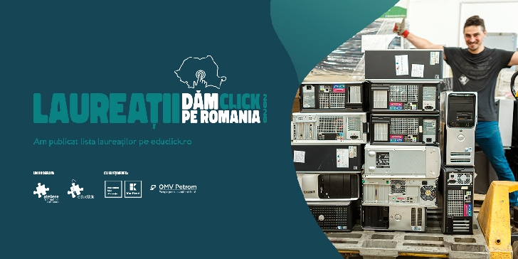 Zece instituţii de învăţământ din judeţul Prahova se numără printre laureaţii programului Dăm Click pe România 2020