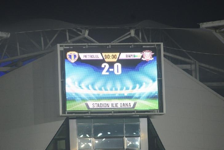 """Victorie în"""" Primvus derby"""". După 20 ani, Rapid a deraiat la Ploieşti. Petrolul Ploieşti – Rapid Bucureşti 2-0"""