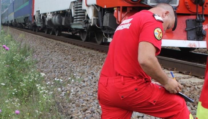 O femeie a decedat după ce a fost acroşată de tren, la Teişani