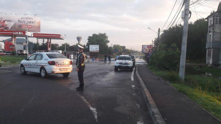 Luni, traficul va fi restricţionat în zona Tătărani-Bărcăneşti