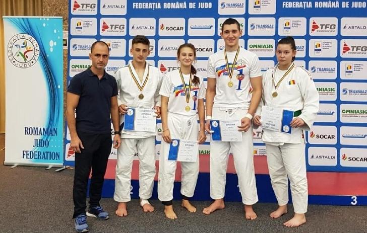 Judoka de la CSM-CFR-CSŞ Ploieşti, au obtinuit 9 medalii Finala Campionatelor Naţionale individuale de judo