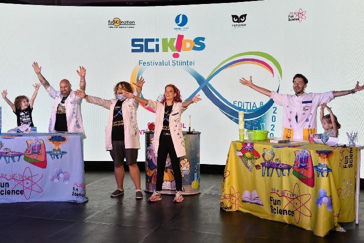 Cel mai mare festival al ştiinţei dedicat copiilor se întoarce. SCIKiDS ediţia 8 are loc pe 28 şi 29 noiembrie