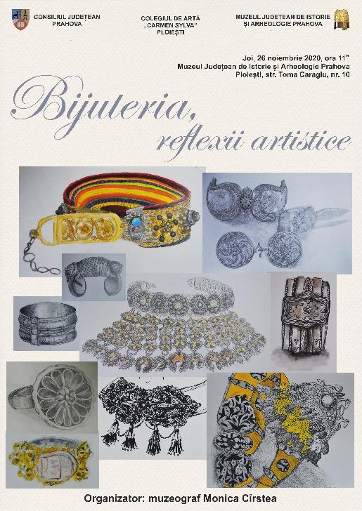 Expoziţie de  bijuterii la Muzeul Judeţean de Istorie şi Arheologie Prahova