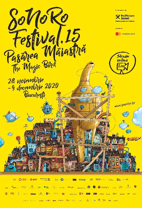 """Festivalul SoNoRo XV """"Pasărea Măiastră"""" continuă în Bucureşti între 28 noiembrie – 9 decembrie"""