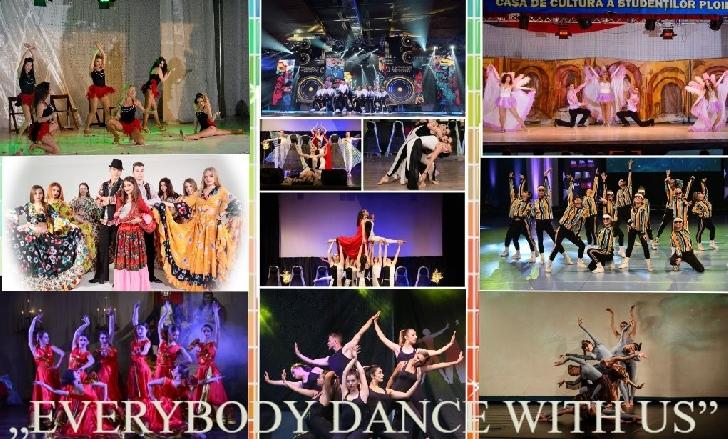 """Premiile celei de a XV-a ediţie a Concursului Naţional de Dans """"EVERYBODY DANCE WITH US"""""""