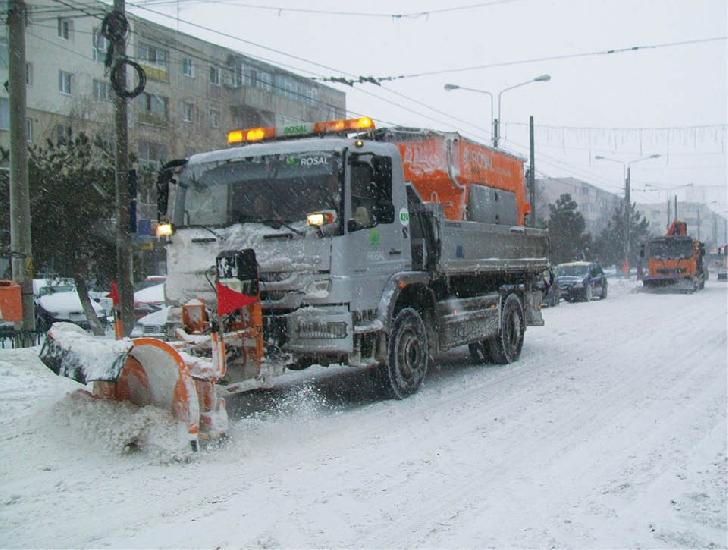 Primăria municipiului Ploieşti se pregateste  pentru a deszapezii strazile