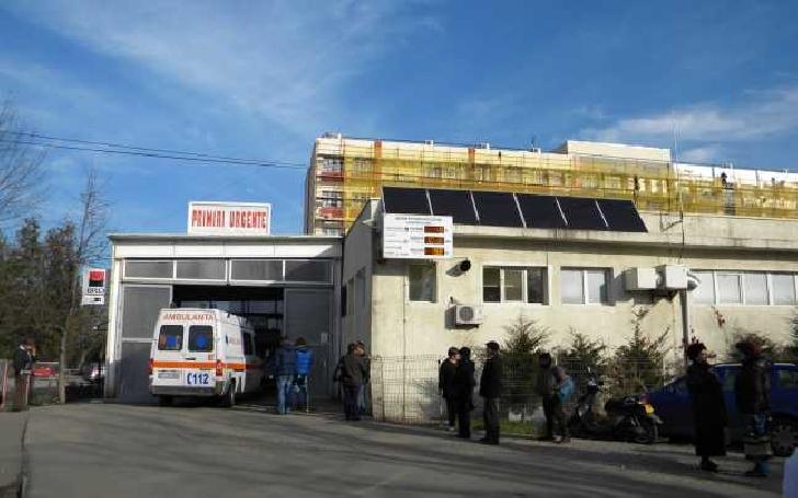 """Scandal in parcarea Spitalului Judetean Prahova.A fost nevoie de interventia """"mascatilor"""" de la SAS Ploiesti"""