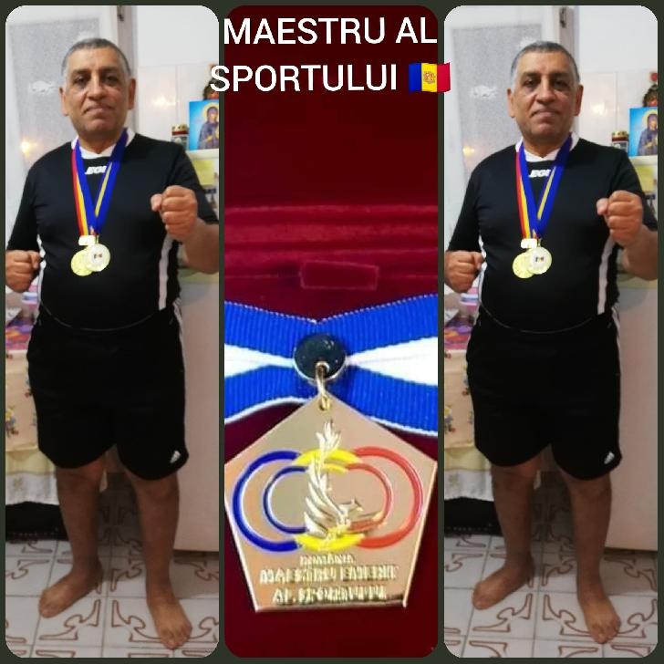 Maestru Alexandru Constantinescu locul 1 la Campionatele Naţionale de judo de la Braşov (veterani)