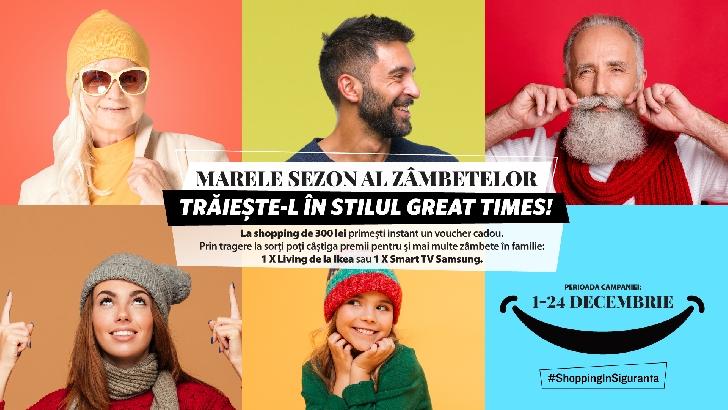 Începe Marele Sezon al zâmbetelor la Ploieşti Shopping City: atmosferă de Sărbători, concursuri cu premii şi serviciu gratuit de împachetat cadouri