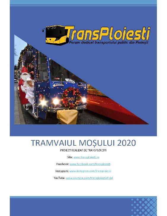 Comunicat  TransPloieşti: Tramvaiul Mosului  2020