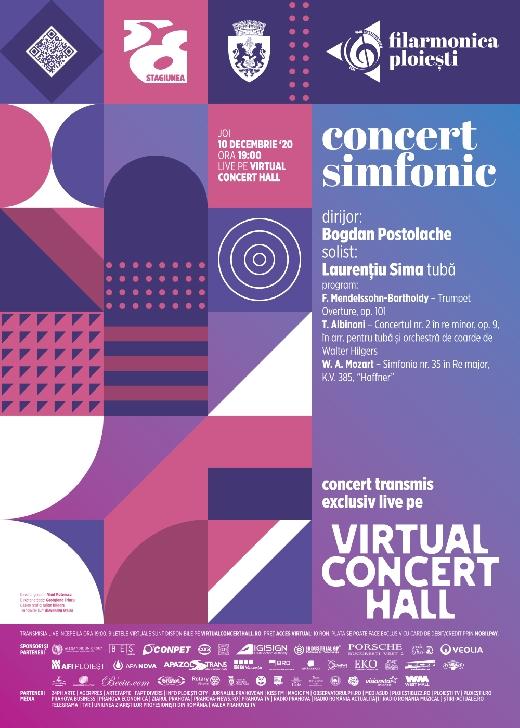 """Concert simfonic al Filarmonicii"""" Paul Constantinescu"""" cu dirijorul Bogdan Postolache, în seara aceasta"""