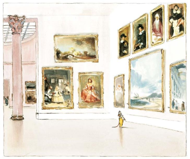 O nouă aventură cu Ernest şi Celestine, de data aceasta la muzeu