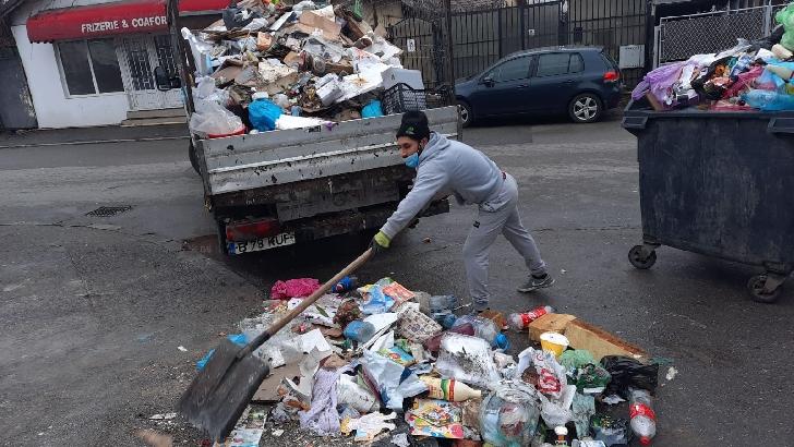 "Primaria Ploiesti. Actiuni din programul ""Curatenie generala "".14 decembrie 2020"