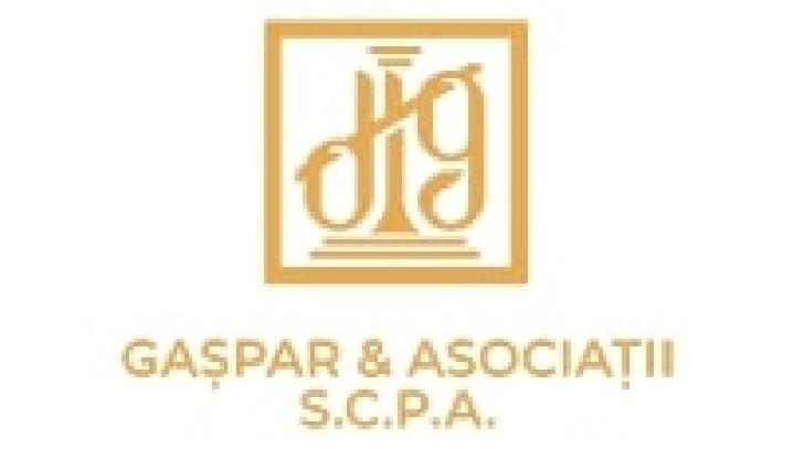 PUBLICITATE . Gaşpar & Asociaţii – Societate Civilă Profesională de Avocatură