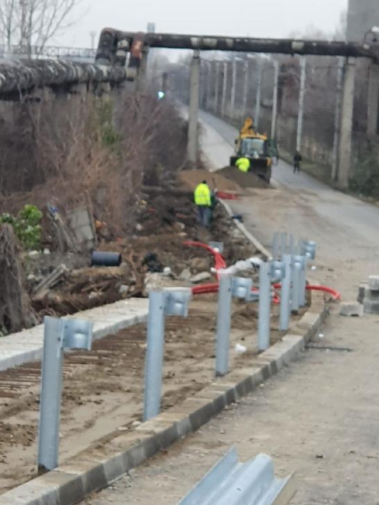 Primarul Municipiului Ploieşti monitorizează modul în care se desfăşoară lucrările la pasajul de trecere de la Podul de lemn