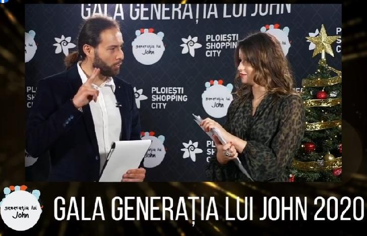 """Adrian Niculescu a fost votat"""" invitatul anului"""" 2020 în emisiunea"""" Generaţia lui John"""".Video de la Gala """"Generatia lui John"""" 2020"""